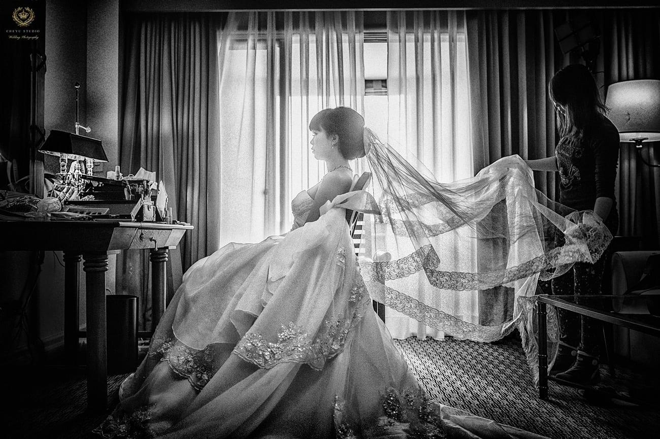 [婚禮攝影] 婚攝 澤于 高雄前金長老教會 / 漢來大飯店