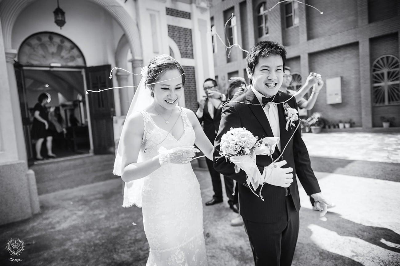 [婚禮攝影] 婚攝 澤于 台南 中山路天主堂