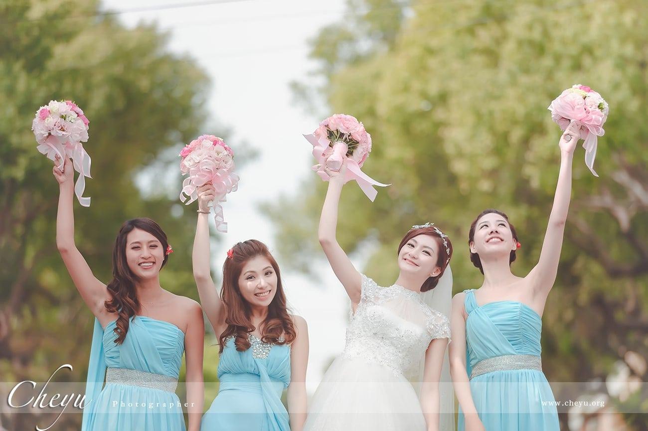 [單張精選] 一場完美的婚禮離不開伴娘的陪伴