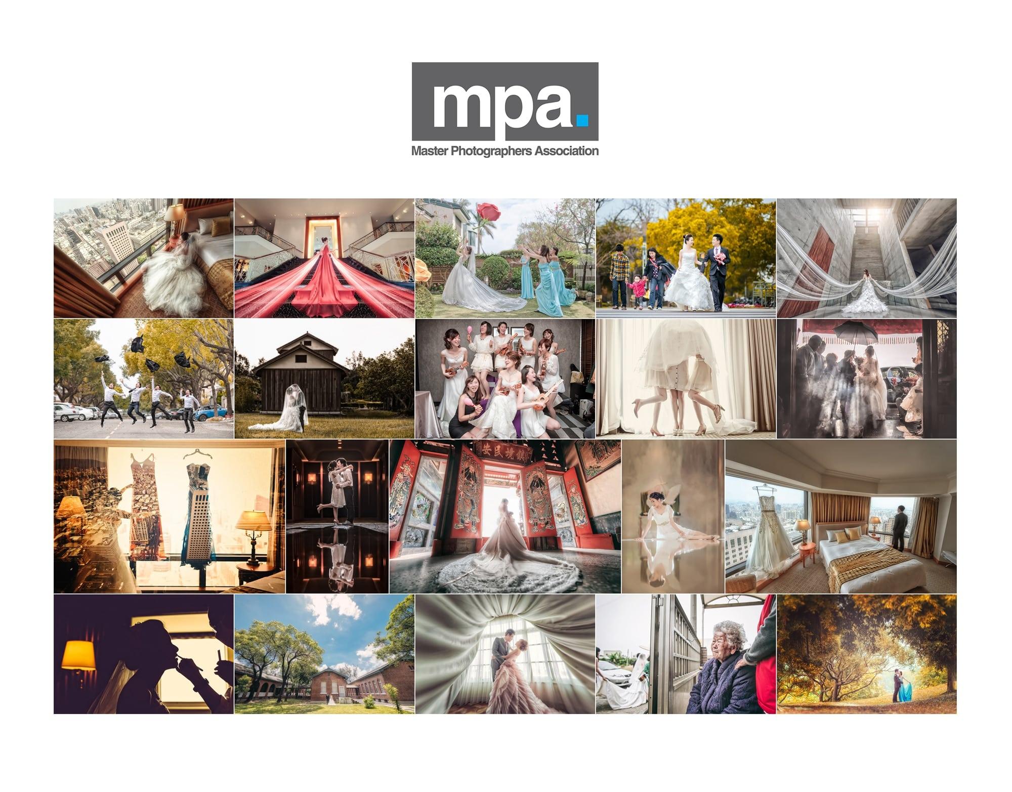 台灣首屆MPA (英國攝影大師協會) 考核通過