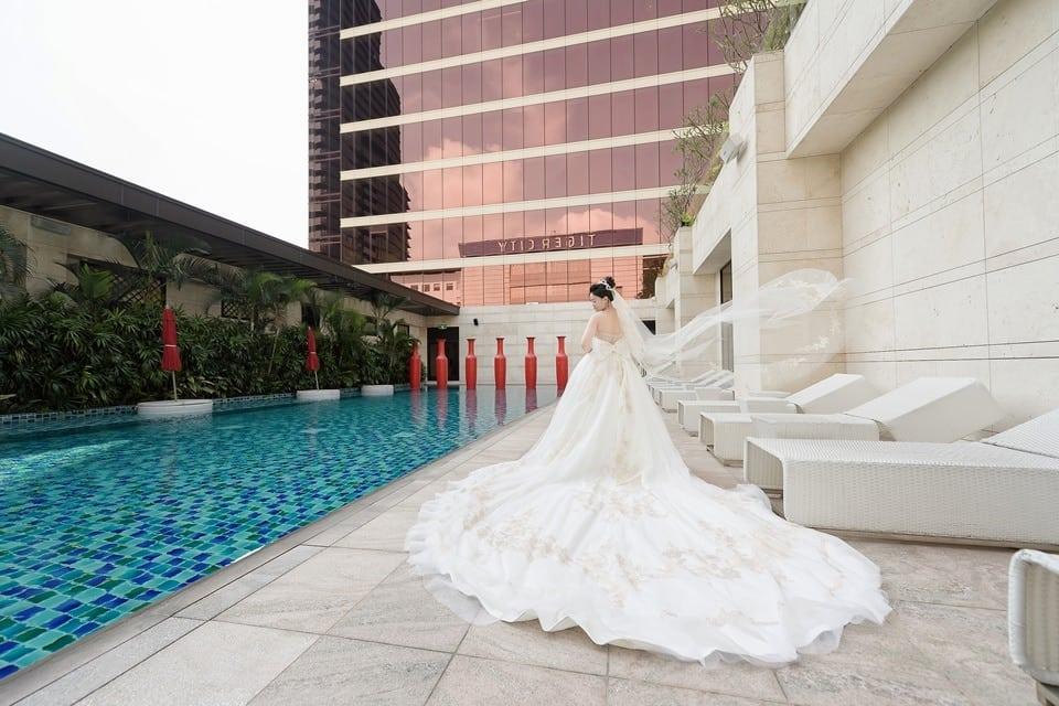 台中婚攝澤于|林酒店迎娶| 中僑花園飯店 紫幻廳婚宴|愛情街角