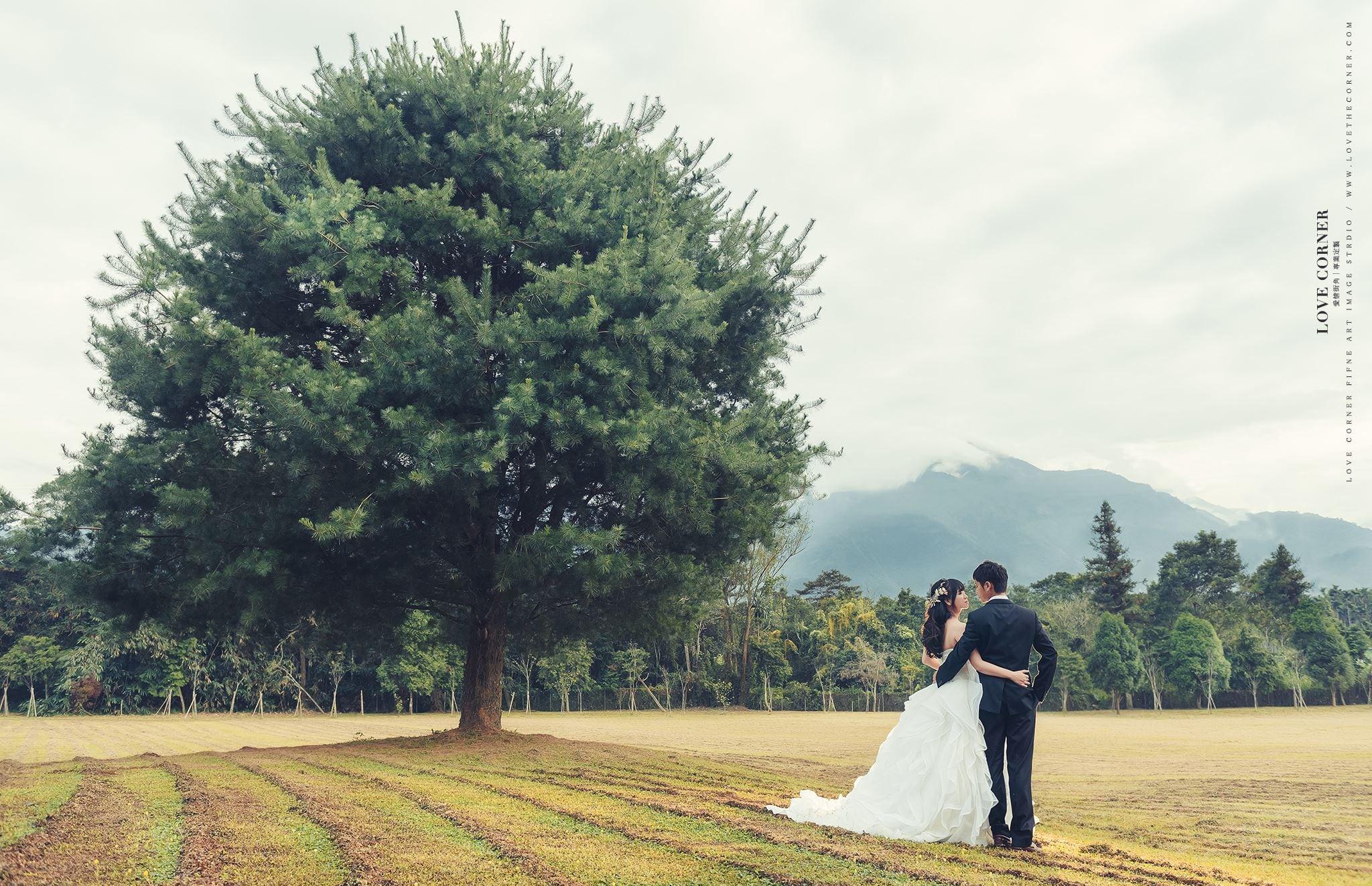 日月潭婚紗|三育基督書院|自助婚紗|向山|愛情街角