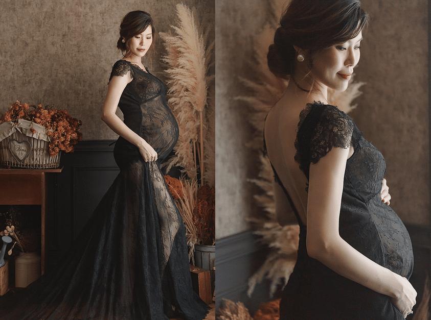 36週孕婦該怎麼穿|美式溫馨|台南攝影棚