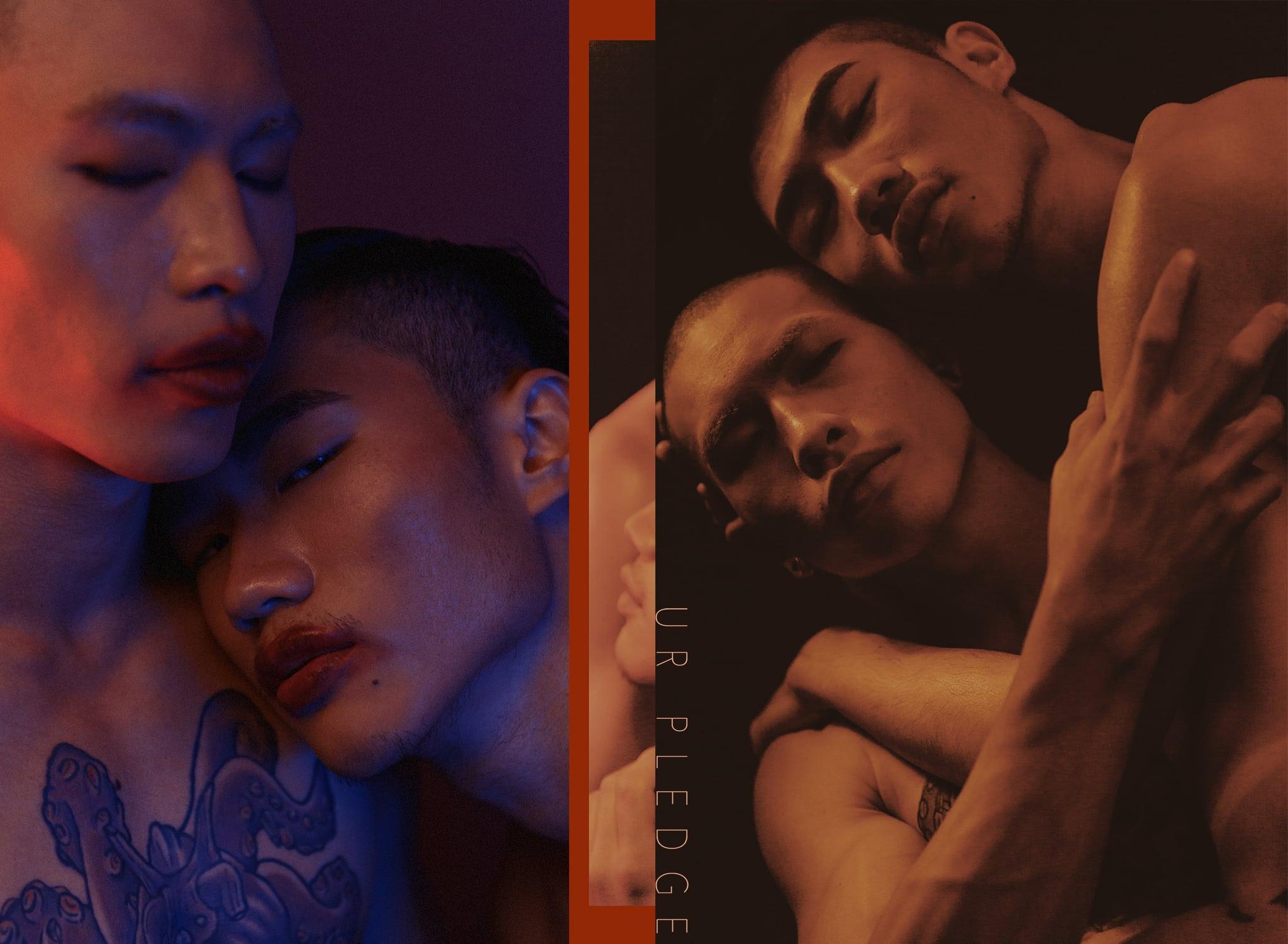 創作影像特輯(4) 閨蜜|同性|彩虹|紅唇