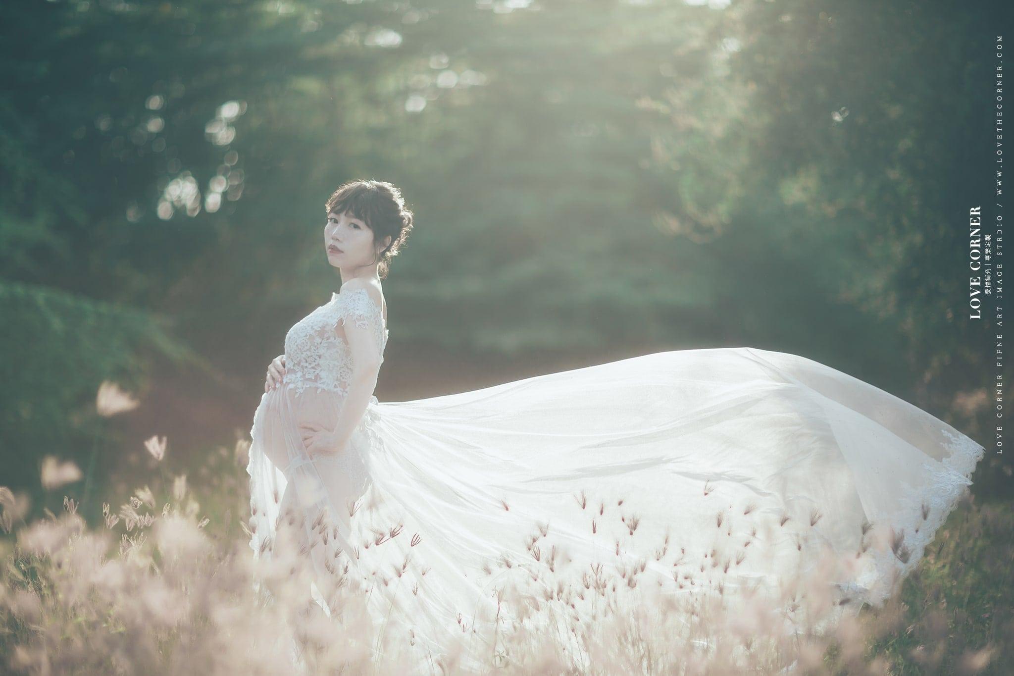 台南孕婦寫真|禮服|孕婦棚拍外拍推薦仙仙風格 S