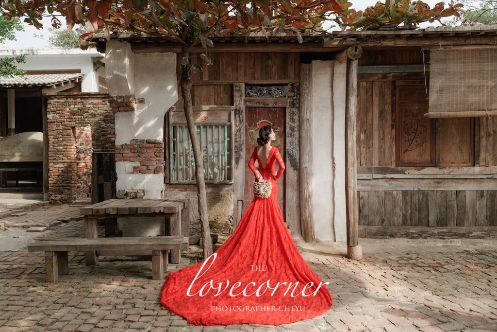 台南婚紗 - 中式老塘湖!歐式奇美博物館!浪漫森林系!一次擁有! Lin haute Bridal 婚紗