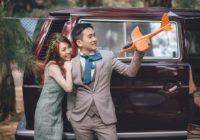 台南婚紗|超特別的露營車婚紗照!創造輕鬆的