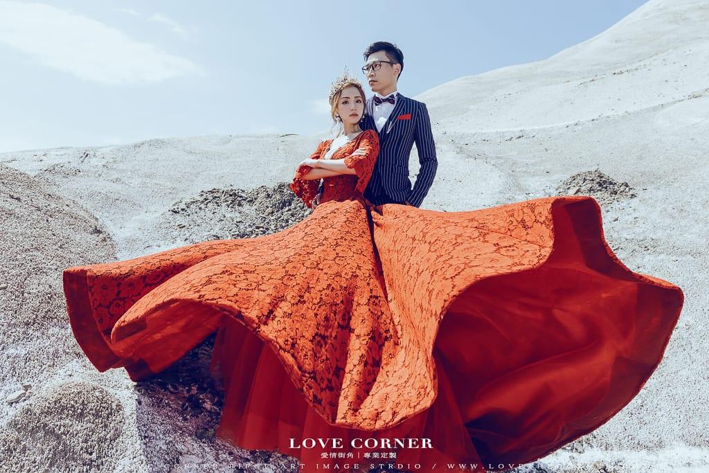 (上輯)台南鹽山雪地婚紗,霸氣女王婚紗聖經一次拍給你!inBlossom手工訂製婚紗