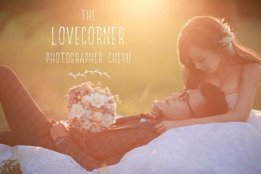 (下輯)拍出逆光臨場感愛情電影的婚紗影像,你一定喜歡! inBlossom手工訂製婚紗