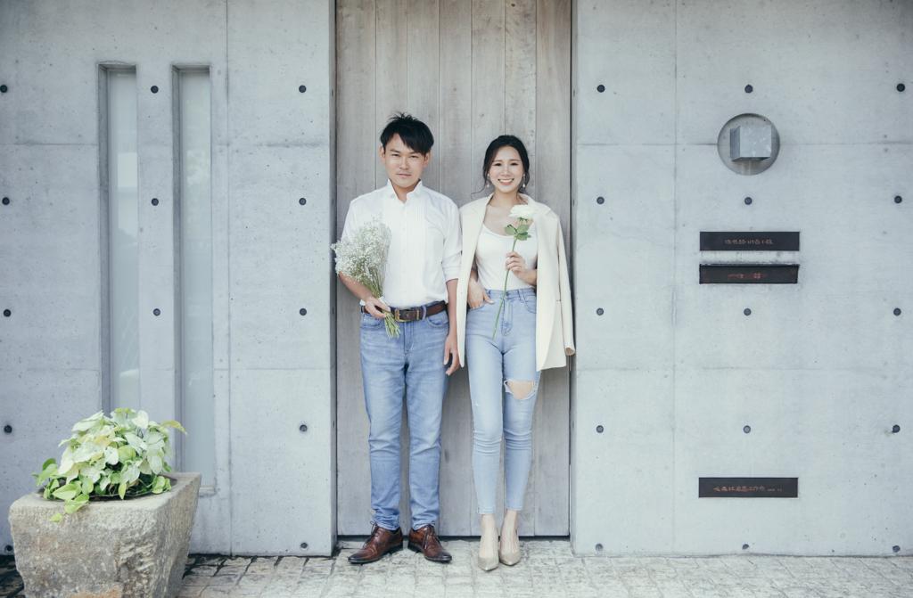台南婚紗|韓系婚紗風格秒變一日韓妞,滿足妳對浪漫韓劇的想像|W wedding