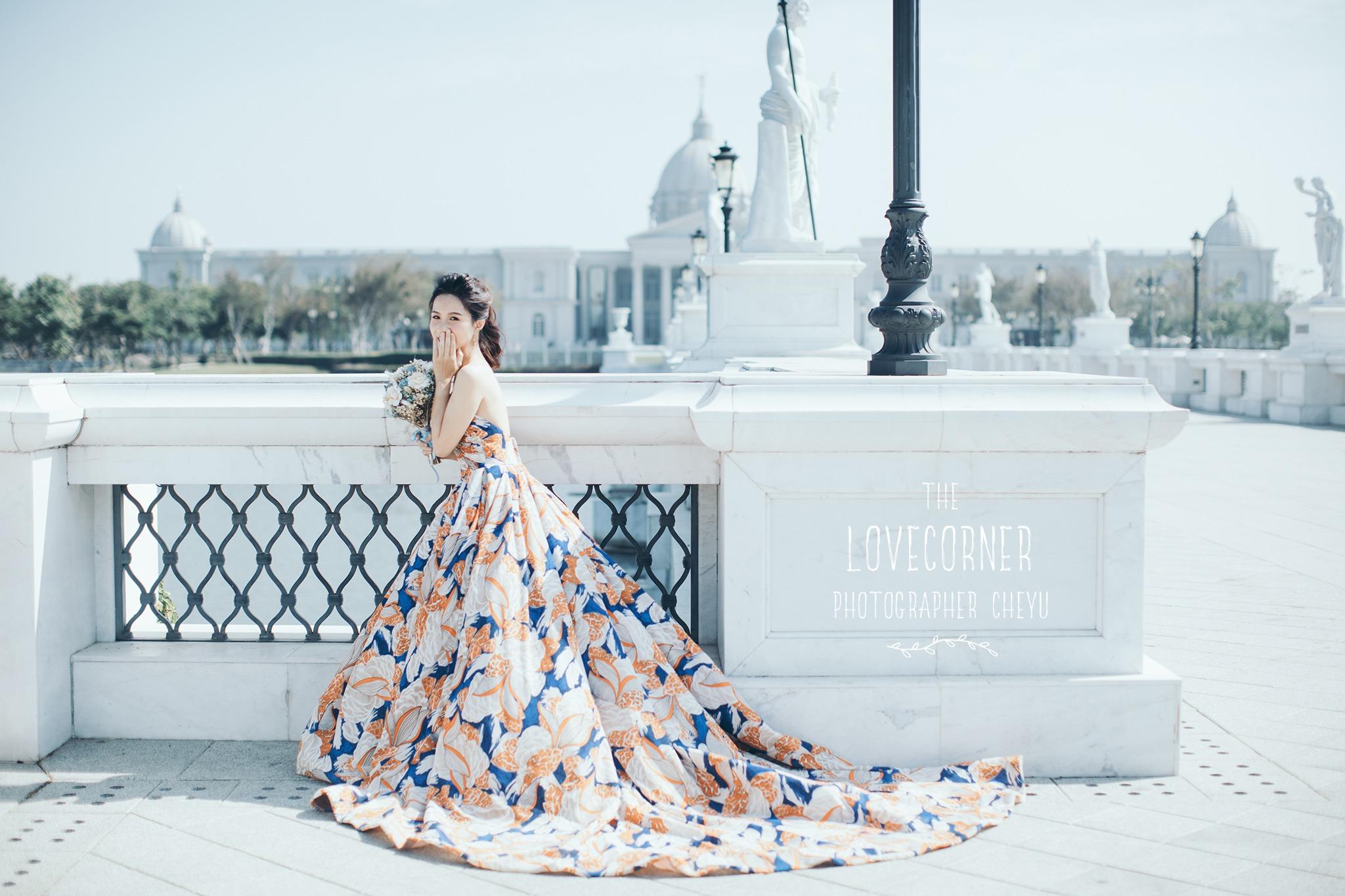 台南自助婚紗|有氛圍感的情境故事,為你呈現一場遠離塵囂的婚紗寫真inBlossom手工訂製婚紗