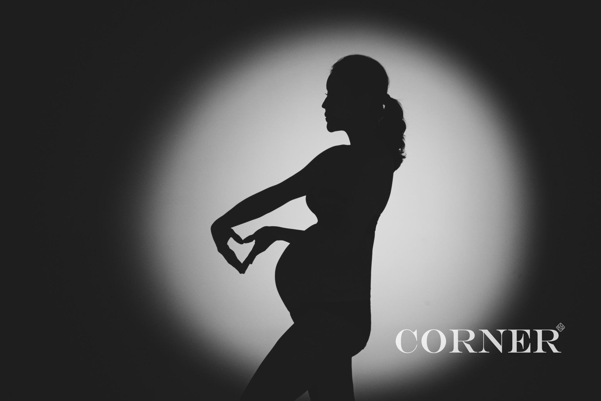 台南孕婦寫真推薦|全裸、半裸美式風格