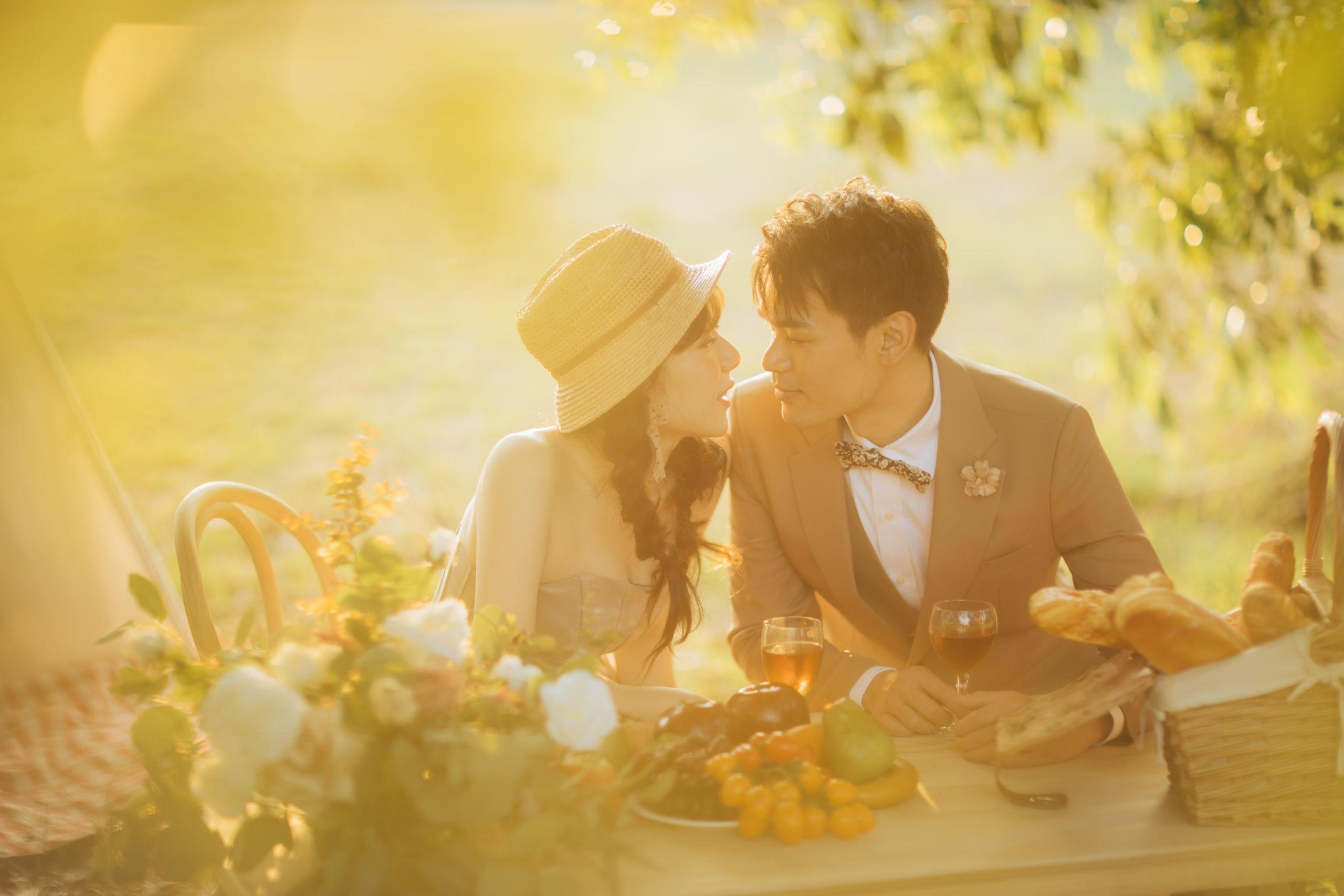 台南婚紗|少女必拍的法式野餐風|田園復古婚紗照|澤于