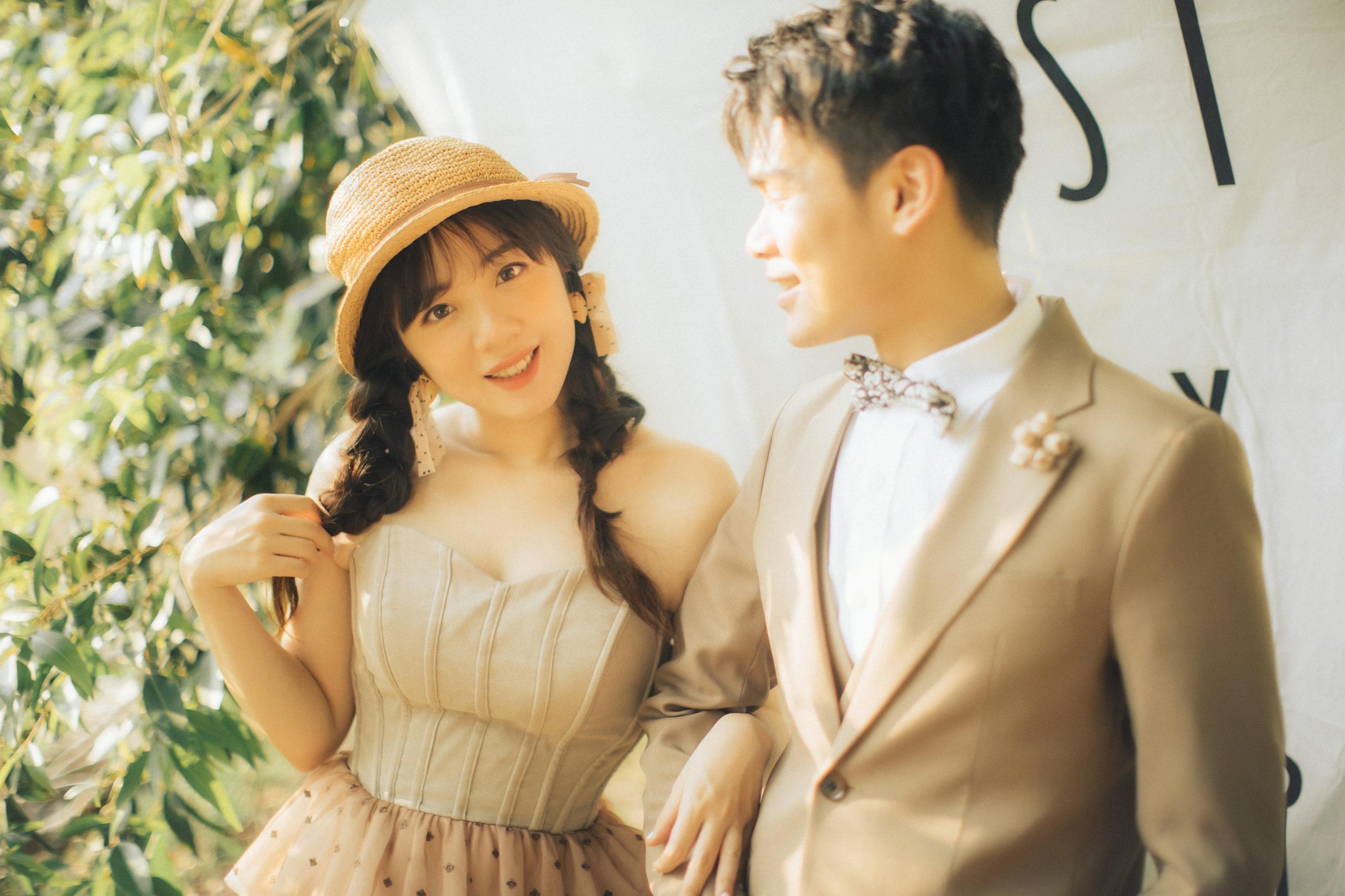 台南婚紗|少女必拍的法式野餐風|田園復古婚