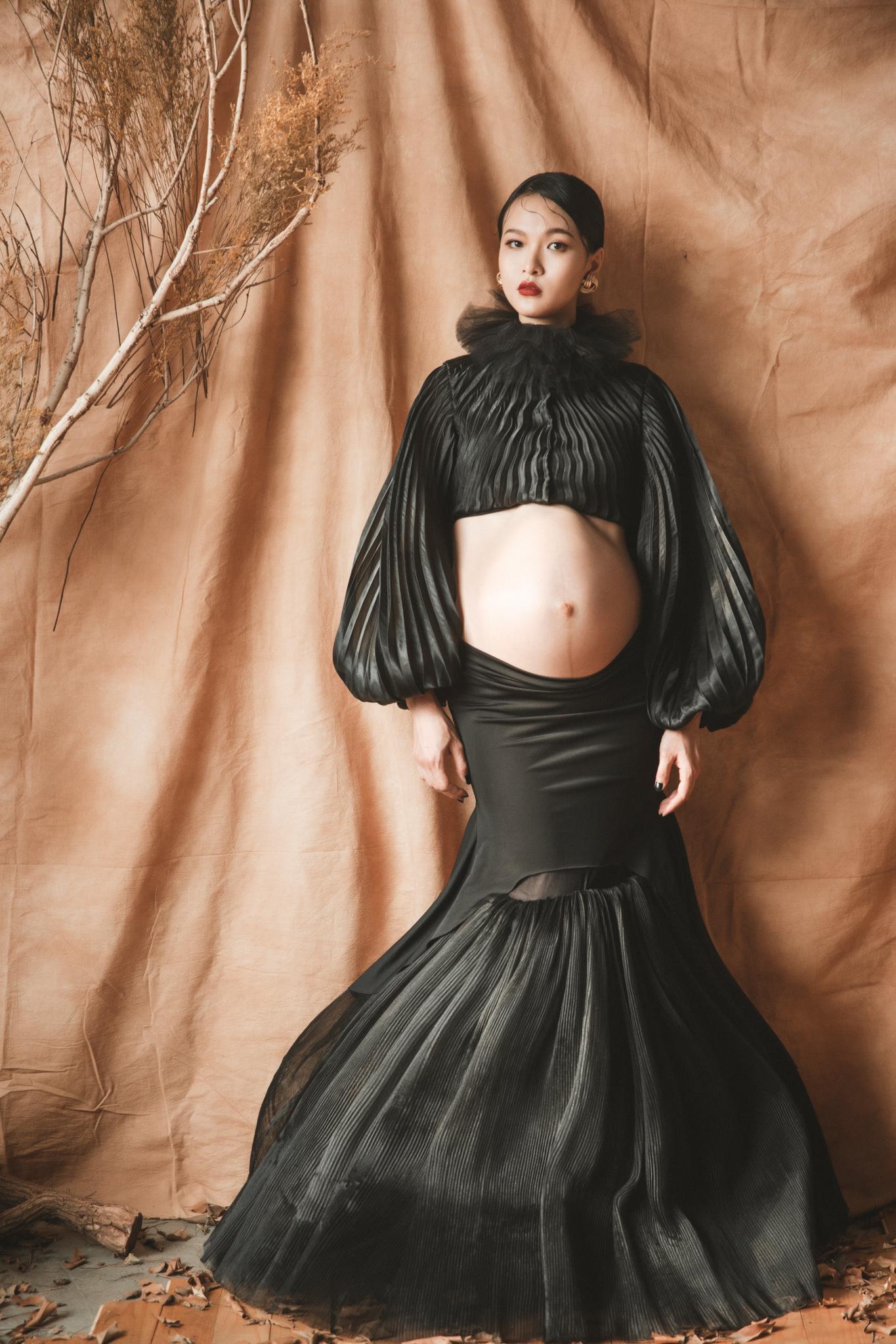 美麗不將就|古典孕媽咪|台南時尚孕婦寫真