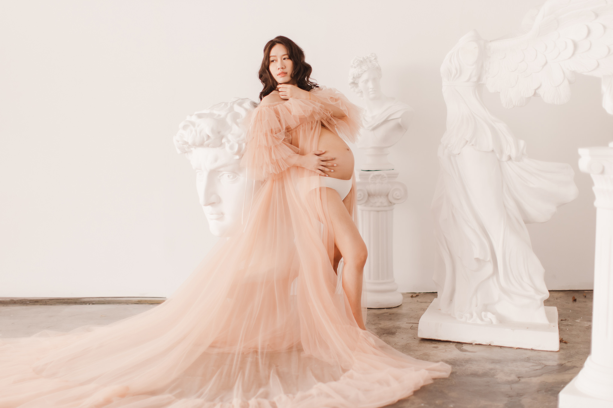 台南孕婦寫真|唯美氣質的高級感孕婦照